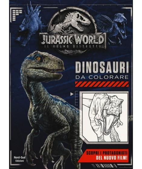 Jurassic World Dinosauri Da Colorare Ediz A Colori
